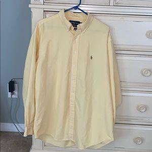 Ralph Lauren classic fit button up. 17.5 neck